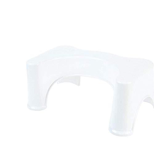 SASCD Taburete en Cuclillas en Forma de U Año de baño Antideslizante Ayudante Asistente de Asiento Asiento del pie Relieve Pilas de estreñimiento 39x22.5x17cm (Color : A)