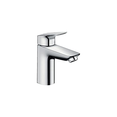 hansgrohe Logis Modern Low Flow Water Saving 1-Handle 1 6-inch Tall Bathroom Sink Faucet in Chrome, 71100001
