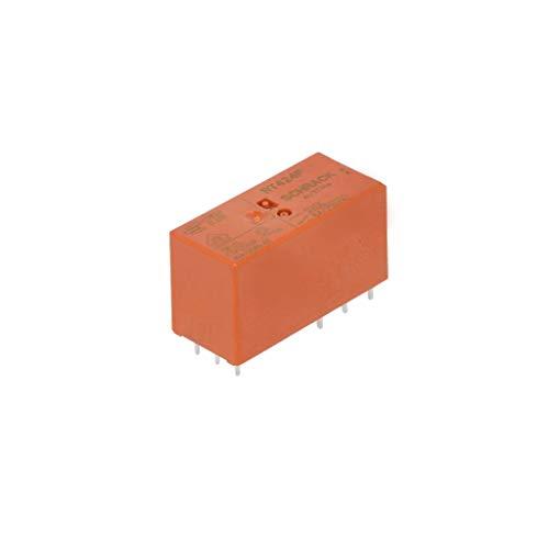 DPCO 12VDC 8A LOT DE DIX RELAIS TE CONNECTIVITY SCHRACK RTE24012 PCB