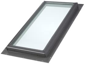 New Spasm price Free Shipping Velux Qpf22302005 Pan-Flashed Skylight Tempered 16