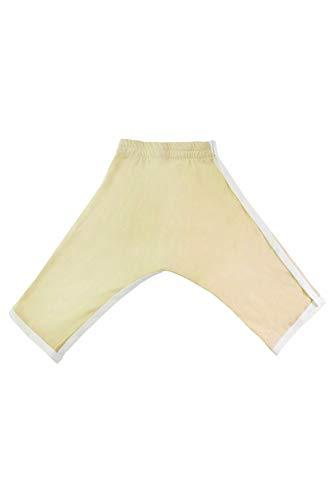 Hip-Pose Babyhose für Spreizhose und Gipshosen gelb, Göße S