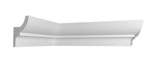 20 m+4 Ecken Indirekte Beleuchtung LED Lichtprofile Wand Stuckleiste Profil BL 16