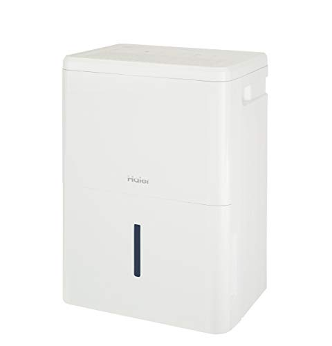 Haier 35 Energy Star 50 Pint Dehumidifier for Home or Basement with Built-in Pump, Large, White