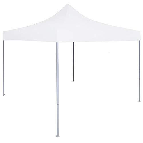 BBalm Nexos Trading - Carpa plegable (3 x 3 m, acero), color blanco