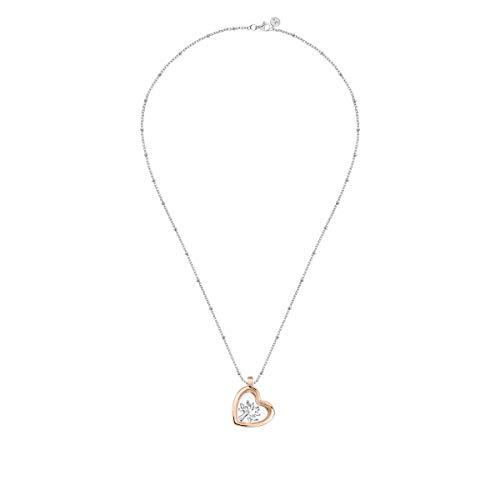 Morellato Collana da donna, Collezione Scrigno D'Amore, in argento, vetro - SAMB32