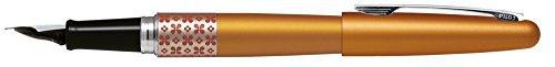 Pilot MR3Retro Pop Füllfederhalter - 1 x Füller Einheitsgröße Blume/Orange