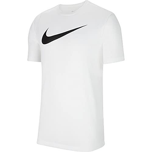 NIKE Camiseta para Hombre Team Club 20 tee, Hombre, Camiseta, CW6936-100, Negro/Blanco, XXX-Large