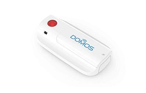 Botón de emergencia WIFI. Aviso por notificación al Smartphone - DOMOS