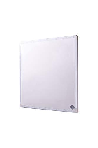 Infrarot Heizung mit Digitalthermostat 130, 300, 450, 600, 800, 1000 Watt Elektroheizung mit Stecker für Steckdose - 5 Jahre Herstellergarantie- Elektroheizung mit Überhitzungsschutz - - Heizt nach dem Prinzip der Sonne - heizt im optimalen Wellenlängenbereich von 8-15µ - Sonnenheizung - Rahmenfarbe ist weiß