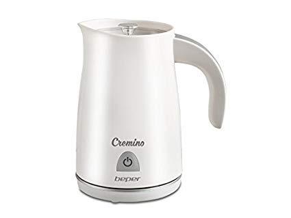 Beper - Cremino Espumador eléctrico 3 en 1 - Ideal para leche, chocolate, capuchinos - 240ml