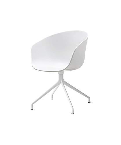 HAY AAC About a Chair Chaise 20?wingenroth abattant de WC Blanc-châssis Blanc hee welling and, Bol polypropylène, Acier revêtu par Poudre-Chaise avec Dossier