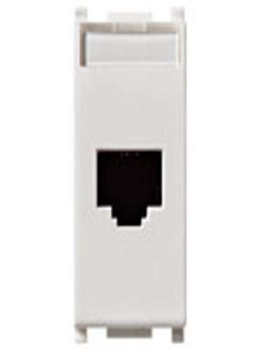 Vimar Serie piatto–Presa RJ45Netsafe Cat5e UTP Bianco