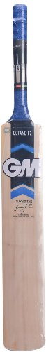 General Motors GM Octane F2 Super Star Kashmir Willow Cricket Bat, Short Handle