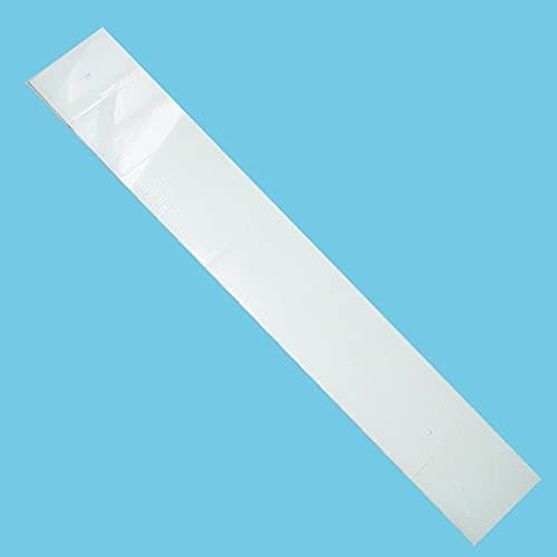 BATTISEDIE PVC TRASPARENTE LISCIO FORATO SP.MM2