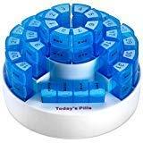 Caja mensual para pastillas MEDca.- IDEAL VIAJE