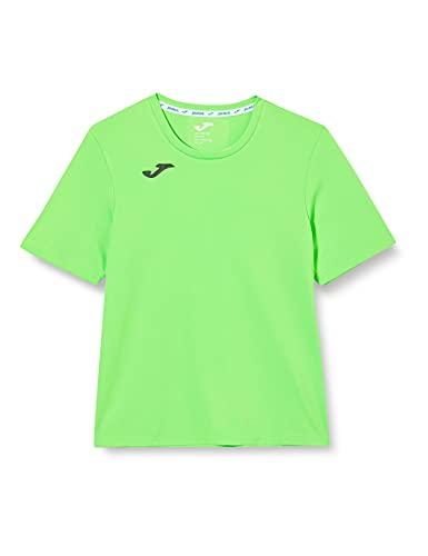 Joma Combi Camiseta Manga Corta, Hombre, Verde (Fluor), XL