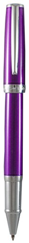 Marquis by Waterford Easy snap cap Rollerball Pen, Purple Lacquer (WM 743 PPL)