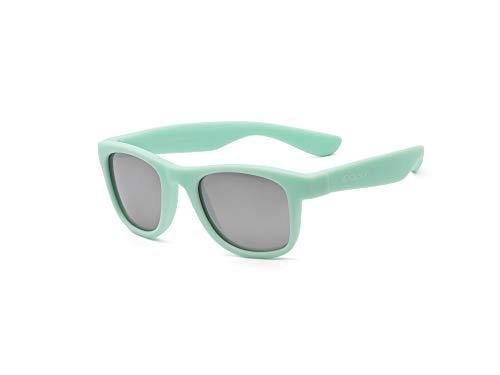 KOOLSUN Bebés Y Niños Gafas De Sol Wave Fashion, 100% Protección Uv, color Turquesa, 1-5 años