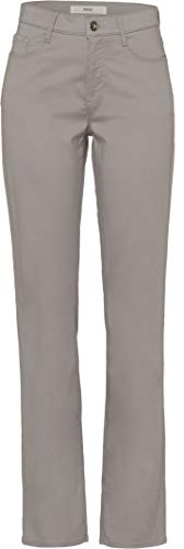 BRAX Damen StyleMary City Sport Premium Five-Pocket Straight Fit Hose, Grau (STONE), 38