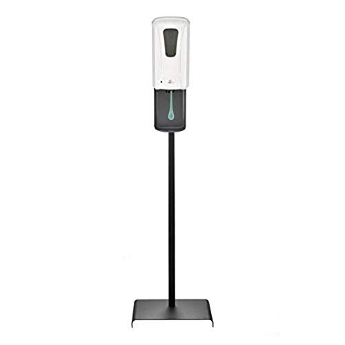 Automatic Touchless Soap & Hand Sanitizer Dispenser With Durable Floor Stand - Gel Alcohol Refillable - For commercial & Professional Use - ADA Compliant
