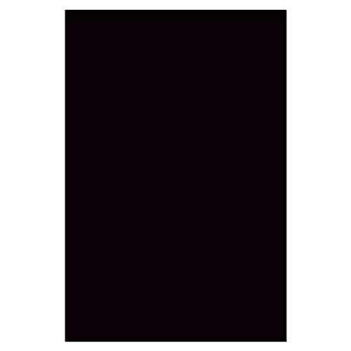 B REFLECTIVE, DIY retroreflektierende Folie Aufkleber, 20x30 cm, Schwarz