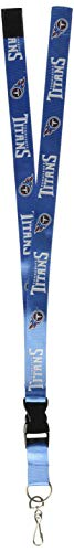 Forever Collectibles Tennessee Titans NFL Lanyard Keyring Schluesselband
