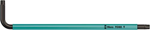 Preisvergleich Produktbild 967 SPKL Torx BO Winkelschlüssel Multicolour,  BlackLaser,  TX 9 x 79 mm,  Wera 05024351001