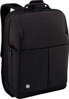 Wenger/SwissGear Reload 16 16' Backpack Black - notebook cases (40.6 cm (16'), Backpack, Black, Nylon, PVC, Monotone, Polyester)