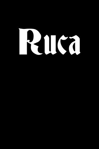 Ruca: Notebook 120 Pages Journal 6x9 Blank Line