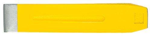 Ochsenkopf Stahl-Spaltkeil, Geschmiedeter Sicherheitskeil, Zum Fällen und Spalten, KWF-Profi Qualität, Hubhöhe 40 mm