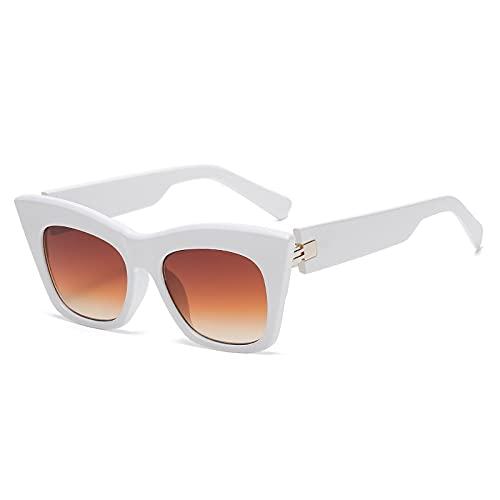 AMFG Moda Big Frame Gafas de sol Hombres y mujeres Street Shooting Sunglasses Summer Outdoor Glasses Driving Mirror (Color : A)