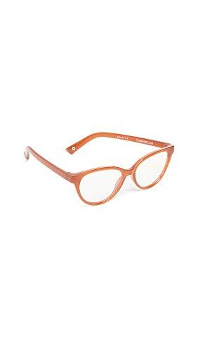 The Book Club Women's The Art Of The Snore Glasses, Saffron, Tan, One Size