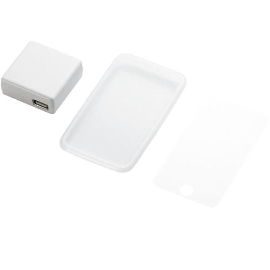 不健康枯渇する同様のELECOM iPod touch 第2世代、第3世代対応(2009年発売) 充電器付きシリコンケース クリア AVA-T09ACCR