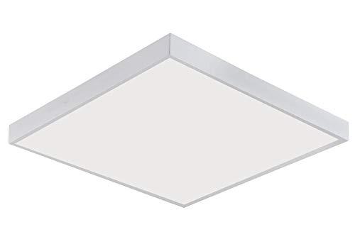 LED Aufputz Panel 60x60 cm viereckig Aufbau Deckenleuchte 600x600mm inkl. Rahmen 3000K Warmweiß