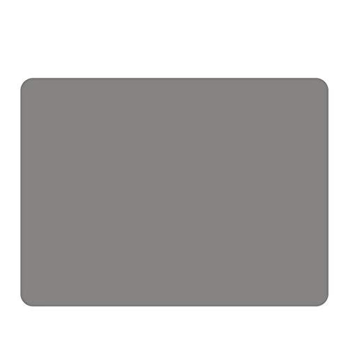 WUCHENG Tischsets für Weihnachten, rutschfeste Silikon-Tischmatten, hitzebeständige, fleckenbeständige Anti-Skidwaschbar, Set von 4 Tischsets (Color : Light Grey)