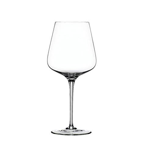 HYAN Copa de Vino Copa de Vino - Copa de Vino de Cristal soplado a Mano: Copas Modernas de Vino de Tallo Largo con Tallo para Boda, Navidad, degustación de vinos Copas de champán (Color : 680ml)