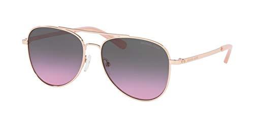 Michael Kors SAN DIEGO MK1045 - Gafas de sol para hombre 1108I6-56 -, azul rosa degradado MK1045-1108I6-56