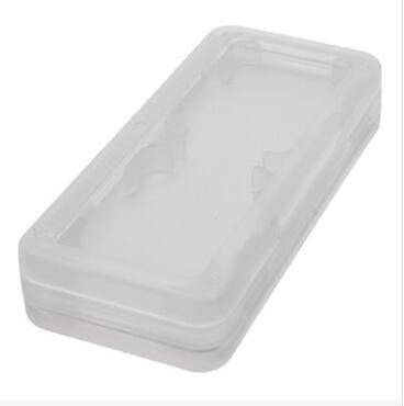 GOZAR 4 en 1 Antichocs Matériel en Plastique Dur De Jeu De Carte Mémoire De Transport Étui De Rangement pour Nintendo Switch - Blanc