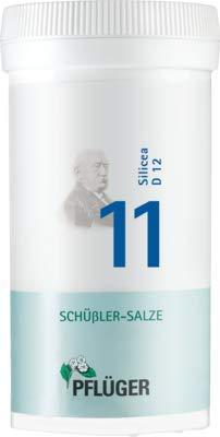 Pflüger Schussler Zouten Nr. 11 Silicea D6, 400 stuks