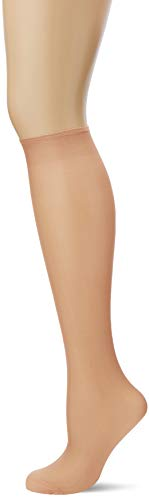 Dim Sublim Calcetines, 15 DEN, Beige (Capri 2m4), Talla única (Talla del Fabricante: 35/41) (Pack de 4) para Mujer