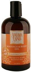 Aromaland Massage & Body Oil Jasmine & Clementine 12 oz. by Aromaland