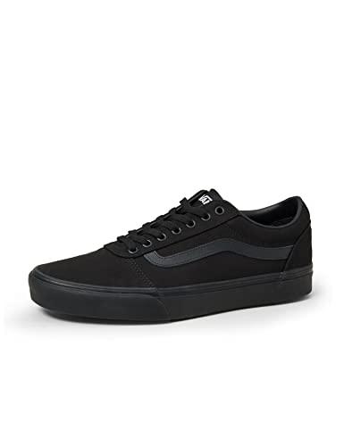 Vans Ward Herren Sneaker, Schwarz Canvas Black, 43 EU