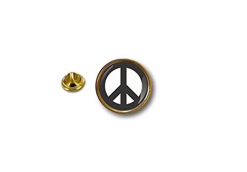 Akacha pin Button pins anstecker Anstecknade Motorrad Morale Peace and llove