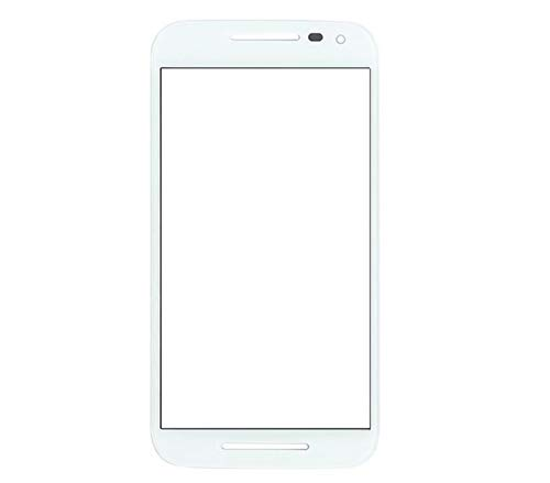 SKgroups Touch Screen Digitizer Glass Compatible for Moto G3-White