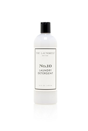 The Laundress - Laundry Detergent, No. 10, Laundry Detergent Liquid, Preserves Color, Fights Stains, Allergen-Free Clothes Detergent, Natural Laundry Detergent, 16 fl oz, 32 washes