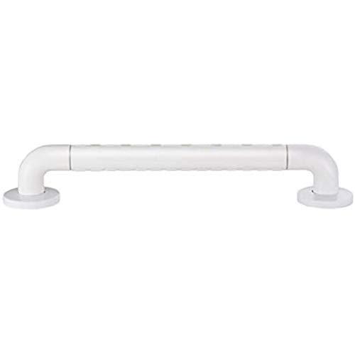 LIUYULONG Badegriff Griff WC mit Haltegriffen for senioren Behinderte Badezimmer Barrier Sicherheitsgriffe mit Anti-Rutsch-Partikel Hilfswerkzeuge (Color : White, Size : 38cm/15inch)