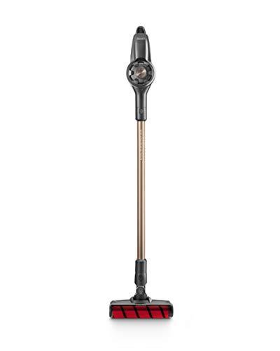 De'Longhi XLM408.DGG Colombina Evo Cordless Scopa Elettrica Senza FIli Ricaricabile, 400 W, Plastica, Nero/Oro