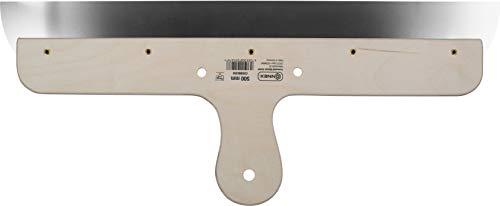Connex COX885350 Flächenspachtel, rostfrei, Holzgriff, Breite 500 mm