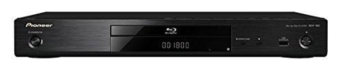 Pioneer ブルーレイプレーヤー 4Kアップスケーリング/ブルーレイディスク対応/DVDディスク対応/3D対応/音声付き早見・遅見再生機能搭載 ブラック BDP-180-K