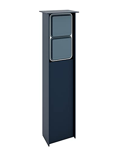 Jehoka - Columna B 4.2 con 2 interruptores (antracita)
